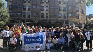 Standox patrocina la convención de la asociación de talleres autorizados Mercedes-Benz