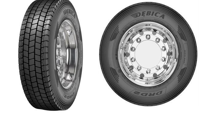 Goodyear presenta su nueva gama de neumáticos Debica para camiones