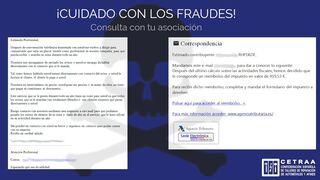 Cetraa alerta de intentos de fraude que suplantan a la Agencia Tributaria