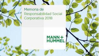 Mann+Hummel Ibérica centra su estrategia de RSC en el medio ambiente y las personas