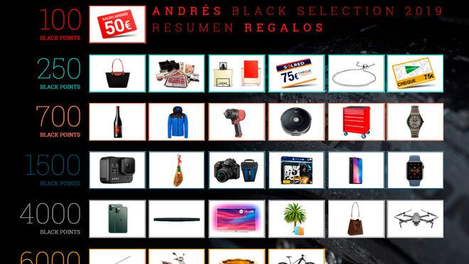 Black Selection 2019, el catálogo de recompensas de Grupo Andrés
