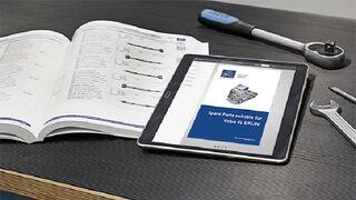 DT Spare Parts presenta el catálogo para Volvo FL 6/FL/FE