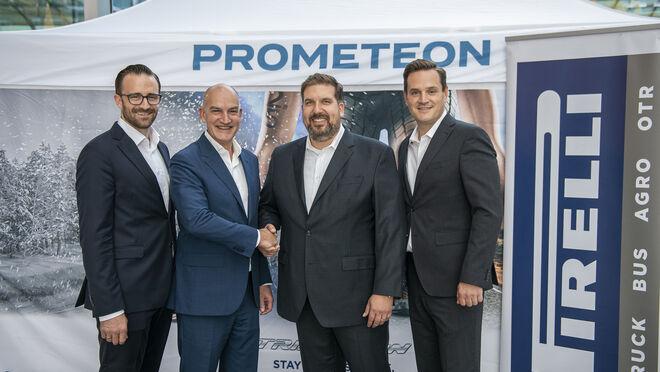 Acuerdo de colaboración entre Alltrucks y Prometeon