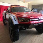 Hella y Yokohama, en el Dakar 2020 equipando al Ssangyong Korando DKR