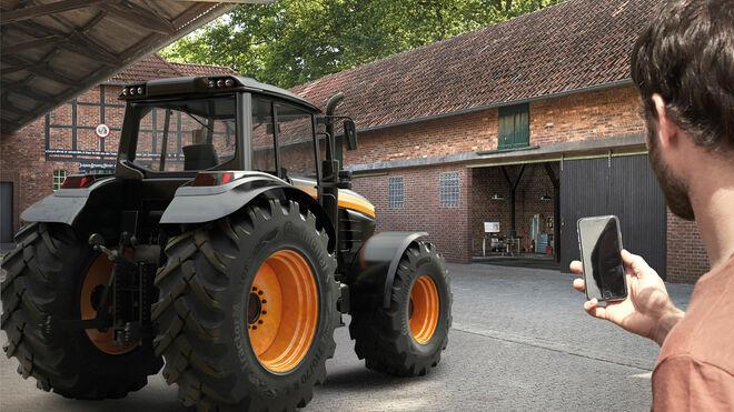 Continental lanza un neumático agrícola inteligente en Agritechnica 2019