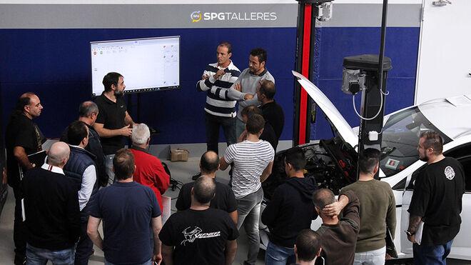 Recambios del Olmo imparte formación a las redes SPG Talleres y Profesional Plus