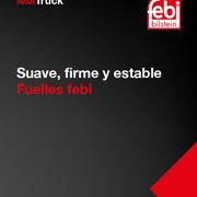 Nueva gama de fuelles de suspensión para vehículo industrial de febi bilstein