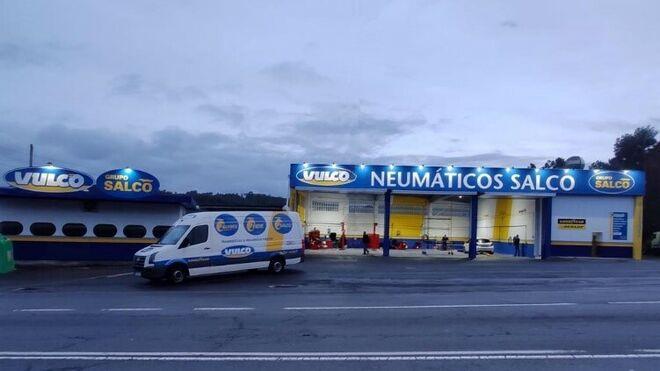 Grupo Salco y Vulco celebran la apertura de su nuevo taller en Carballo (A Coruña)