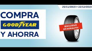 Norauto ofrece descuentos con la compra de neumáticos Goodyear