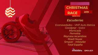 La I Christmas Race by Infotaller calienta motores