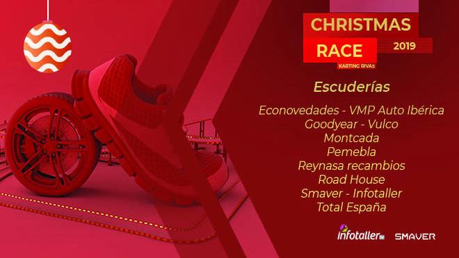 La I Christmas Race by Infotaller calienta motores
