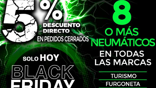 NEX Tyres muestra su lado más verde con el Black Friday