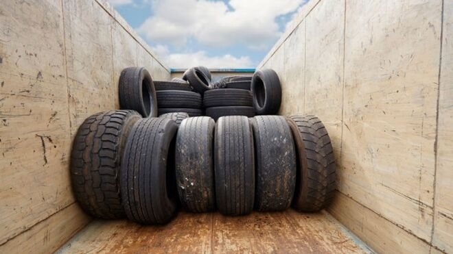 TNU gestionó 82.383 toneladas de neumáticos fuera de uso en 2018