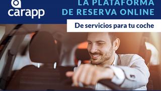 Carapp, plataforma de reserva online de servicios de mantenimiento y reparación