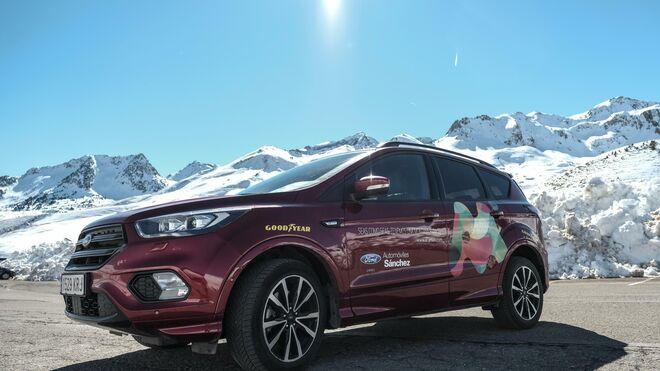 Goodyear seguirá equipando con neumáticos todo tiempo los vehículos del Grupo Aramón
