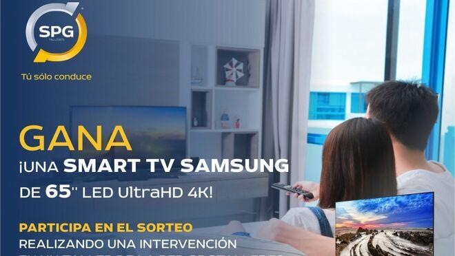 SPG Talleres sortea una Smart TV Samsung por realizar una intervención