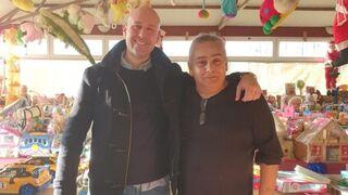 RecOficial arregla el 'trineo' de Papá Noel en Vigo