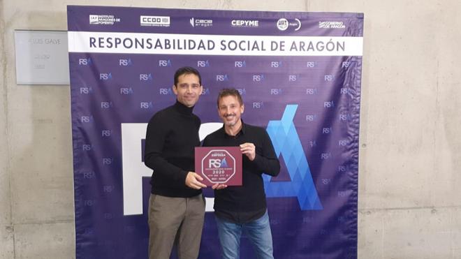 Bilstein group obtiene el sello Responsabilidad Social de Aragón
