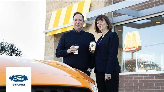 La extraña alianza de Ford y McDonald's: crear componentes del vehículo a base de café