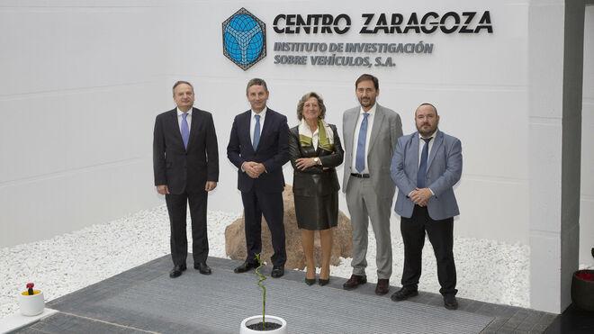 Centro Zaragoza y Unespa estrechan lazos para lograr una movilidad más segura