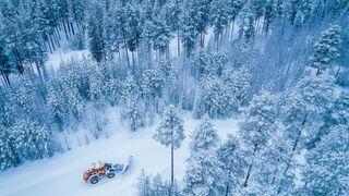 Falken pone a prueba los neumáticos de invierno en su nueva pista en Suecia