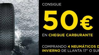 Rodi regala 50 euros en carburante por la compra de 4 neumáticos Pirelli de invierno
