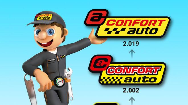Confortauto renueva su logo