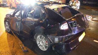 Un coche explota en Reino Unido por culpa del ambientador