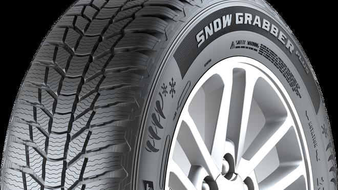 Snow Grabber Plus, el neumático de invierno de General Tire para vehículos 4x4