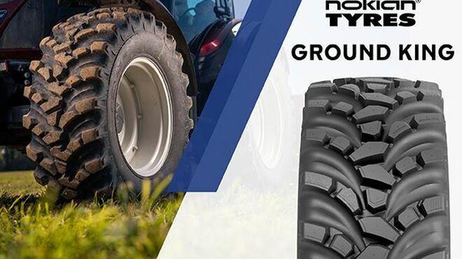 Los neumáticos aliados de los tractores multipropósito, así son los Nokian Ground King