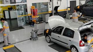 Renault, la marca que más coches lleva al taller en España