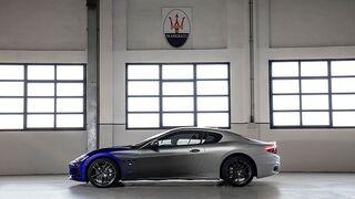 Tres tonos despiden al Maserati GranTurismo