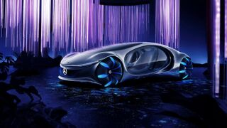 El coche inspirado en Avatar que todo mecánico querrá ver en el futuro