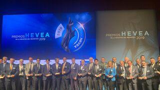 Estos son los ganadores de la II edición de los Premios Hevea de la Industria del Neumático