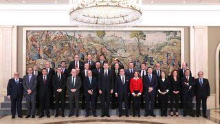 Ancera, como miembro del ejecutivo de Confemetal, se reúne con el Rey Felipe VI