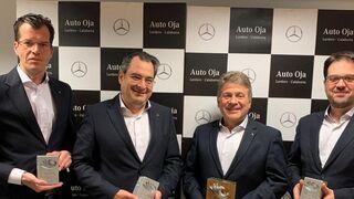 """Mercedes-Benz premia al concesionario riojano Auto Oja por """"su gestión sostenible"""""""
