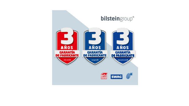 bilstein group dará tres años de garantía de fabricante