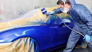 Cuatro consejos para optimizar el consumo de pintura en el taller