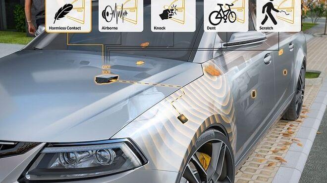 Continental presenta un nuevo sensor para proteger la carrocería del coche