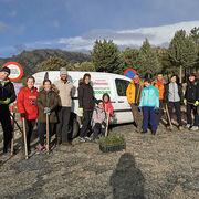 Feu Vert participa en una jornada de reforestación en La Pedriza (Madrid)