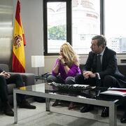 Sernauto y Pablo Casado (PP) se reúnen para analizar los retos del sector