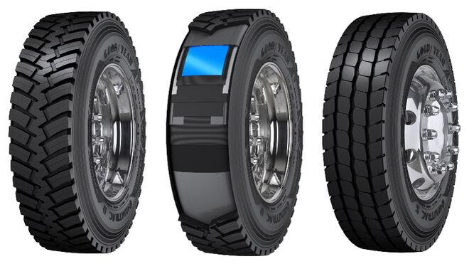 Goodyear lanza los Omnitrac Heavy Duty, neumáticos para camiones de servicio mixto