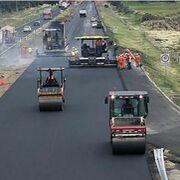 200.000 neumáticos usados para hacer una carretera en México