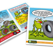 """TNU conmemora el Día de la Educación Ambiental con su cómic """"Los Neumáticos"""""""