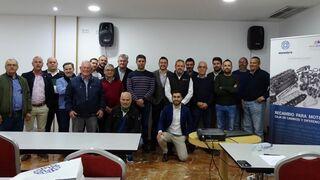 Monedero presenta a los talleres murcianos de VI sus novedades para recambios