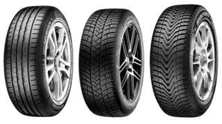 Tres neumáticos Vredestein como equipo original del nuevo Volkswagen Golf 8