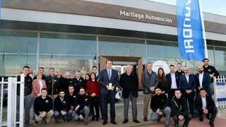 Martiaga Automoción (Albacete), el mejor concesionario de Hyundai en 2019