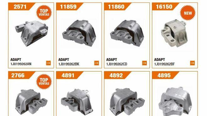 Fare amplía su gama de soportes de motor para coches de Grupo VAG entre 1997 y 2006