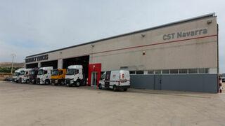 CST Navarra abre nuevo punto de servicio de Renault Trucks en Tudela