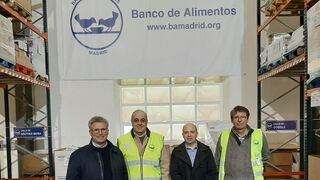 ViaLider colabora por tercer año consecutivo con el Banco de Alimentos de Madrid